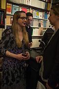 DAISY DE VILLENEUVE, Book launch for 'I Should Have Said' by Daisy de Villeneuve, John Sandoe Books, Blacklands Terrace. Chelsea, London. 10 March 2015.
