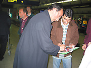 Jean Reno.Air France Arrival Terminal.Nice Airport.Nice, France.Saturday, May 18, 2002.Photo By Celebrityvibe.com