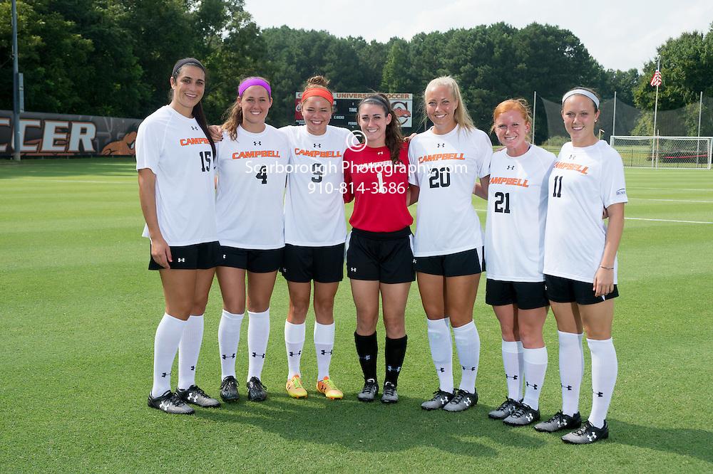 2014 Campbell University Women Soccer Teamshots