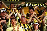 Phoenix fans.<br /> A-League football - Wellington Phoenix v Perth Glory at Westpac Stadium, Wellington. Sunday, 8 November 2009. Photo: Dave Lintott/PHOTOSPORT