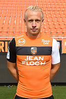 Quentin Lecoeuche during photoshooting of FC Lorient for new season 2017/2018 on September 12, 2017 in Lorient, France. (Photo by Philippe Le Brech/Icon Sport)