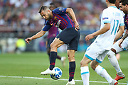 Jordi Alba of FC Barcelona in action during the UEFA Champions League, Group B football match between FC Barcelona and PSV Eindhoven on September 18, 2018 at Camp Nou stadium in Barcelona, Spain - Photo Manuel Blondeau / AOP Press / ProSportsImages / DPPI