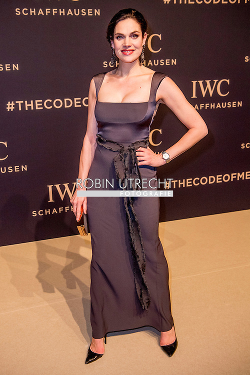 17-1-217 -GENEVE GENEVA SWITSERLAND SWISS ZWITSERLAND -  ANNA DRIJVER SIHH 2017  IWC gala event «Decoding the Beauty of Time» COPYRIGHT ROBIN UTRECHT