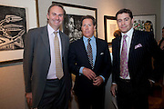 WILLIAM CASH; VISCOUNT LINLEY; ROSS WESTGATE, Spear's Wealth Management Awards. Christie's, Kind St. London. 14 September 2009.
