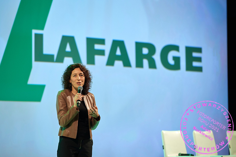 Lodz, Poland - 2018 January 11: Lafarge Polska conference by Endorfina Agency at DoubleTree by Hilton Hotel Lodz on January 11, 2018 in Lodz, Poland.<br /> <br /> Mandatory credit:<br /> Photo by &copy; Adam Nurkiewicz<br /> <br /> Adam Nurkiewicz declares that he has no rights to the image of people at the photographs of his authorship.<br /> <br /> Picture also available in RAW (NEF) or TIFF format on special request.<br /> <br /> Any editorial, commercial or promotional use requires written permission from the author of image.