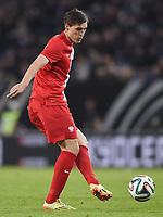 Fotball<br /> Tyskland v Polen<br /> 13.05.2014<br /> Foto: Witters/Digitalsport<br /> NORWAY ONLY<br /> <br /> Michal Zyro (Polen)<br /> Fussball, Testspiel, Deutschland - Polen 0:0