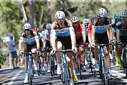 January 18, 2018 - Glenelg, AUSTRALIA - Belgian Stijn Vandenbergh of AG2R La Mondiale in action at stage 3 of the Tour Down Under cycling race, 120,5km from Glenelg to Victor Harbor, Thursday 18 January 2018 in Australia. The stage is shortened because of the extreme temperatures that are expected in Western Australia on Thursday. This years edition of the race is taking place from January 16th to January 21st...BELGA PHOTO YUZURU SUNADA. (Credit Image: © Yuzuru Sunada/Belga via ZUMA Press)