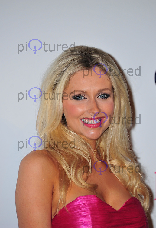 Gemma Merna attends the Comfort Prima High street fashion awards at Battersea Evolution in London  . Photo credit should read ALAN ROXBOROUGH /Piqtured