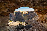 Rock Arch in Bighorn Canyon National Recreation Area
