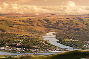 Lewiston, the most inland sea port in the US derived its name from the Lewis and Clark Expedition.