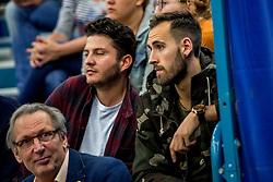 12-05-2017 NED: Nederland - Tsjechië, Amstelveen<br /> De Nederlandse volleybal mannen spelen hun eerste oefeninterland in de Emergohal in Amstelveen tegen Tsjechië. Deze wedstrijd staat in het teken van de verplaatsing van het Bankrasmomument. Nederland speelde daarom in speciale oude Nederlandse shirts uit 1992 / Ramon Martinez Gion #22