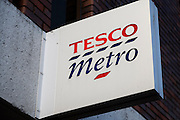 Tesco Metro. High street shops and shopping,  January 2009, Lowestoft, Suffolk, England