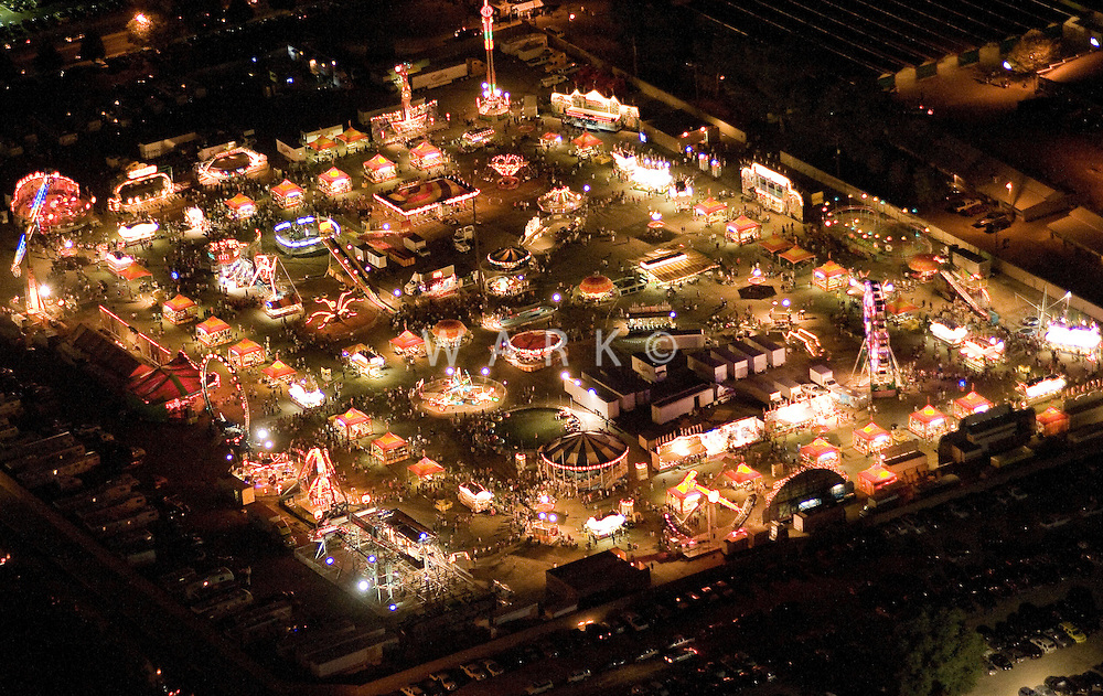 carnival rides at Colorado State Fair