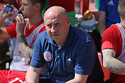 Accrington Stanley  manager John Coleman during the EFL Sky Bet League 2 match between Swindon Town and Accrington Stanley at the County Ground, Swindon, England on 5 May 2018. Picture by Gary Learmonth.