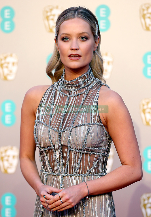 Laura Whitmore attending the 72nd British Academy Film Awards held at the Royal Albert Hall, Kensington Gore, Kensington, London.