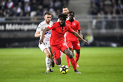 February 23, 2019 - Amiens, France - 05 ADRIEN TAMEZE (NICE) - 17 ALEXIS BLIN  (Credit Image: © Panoramic via ZUMA Press)