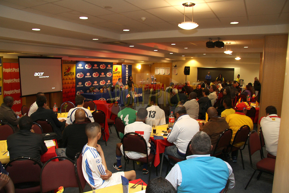 GV during the Engen Knockout Challenge Media Conference held at Athlone Stadium in Cape Town on the 13th September 2012..Photo by Shaun Roy/ SPORTZPICS..