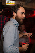 JAMES MIDDLETON, The launch of Beaver Lodge in Chelsea, a cabin bar and dance saloon, 266 Fulham Rd. London. 4 December 2014