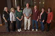 Staff with twenty-five years of service pose for a portrait during the 48th Annual Classified Staff Service Awards in Baker Center Ballroom on Friday, October 14, 2016.