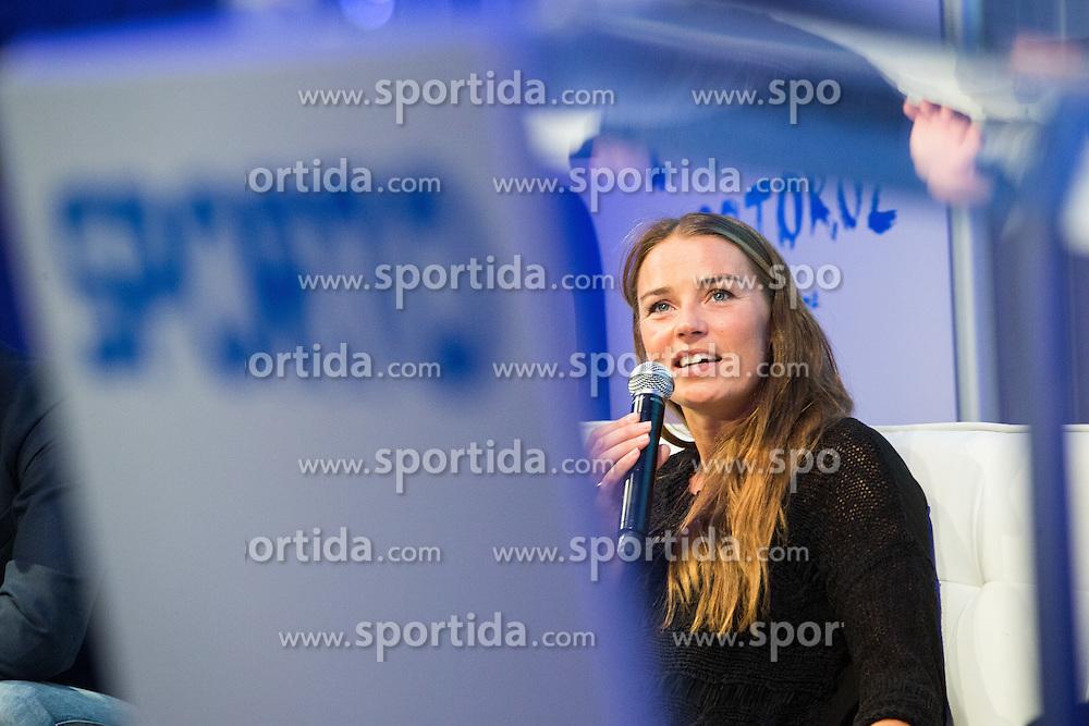 Tina Maze (Alpine skier) during Sports marketing and sponsorship conference Sporto 2015, on November 19, 2015 in Hotel Slovenija, Congress centre, Portoroz / Portorose, Slovenia. Photo by Vid Ponikvar / Sportida