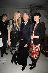 Left to right, JADE PARFITT, PAUL O'GRADY and ERIN O'CONNOR at a reception before the launch of the English National Ballet Christmas season launch of The Nutcracker held at the St,Martins Lane Hotel, London on 5th December 2008.