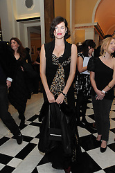 JASMINE GUINNESS at the launch of the Claridge's Christmas Tree designed by John Galliano for Dior held at Claridge's, Brook Street, London on 1st December 2009.