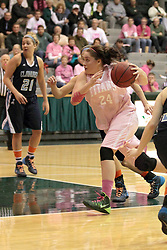 08 February 2014:  Taylor Reaber during an NCAA women's division 3 CCIW basketball game between the Elmhurst Bluejays and the Illinois Wesleyan Titans in Shirk Center, Bloomington IL