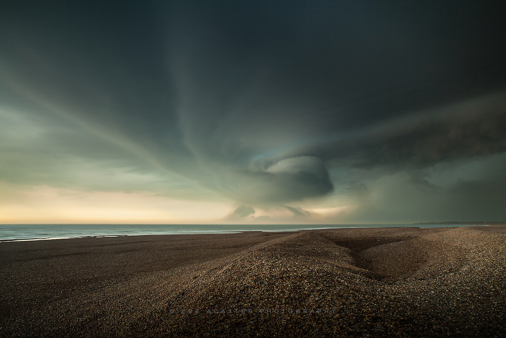 Shingle Street in Suffolk again. Taken a couple of minutes after the previous shot, and the last one I got before the heavens opened.