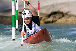 Airi YAGI of Japan during the Canoe Single (WC1) Womens Semi Final race of 2019 ICF Canoe Slalom World Cup 4, on June 30, 2019 in Tacen, Ljubljana, Slovenia. Photo by Sasa Pahic Szabo / Sportida