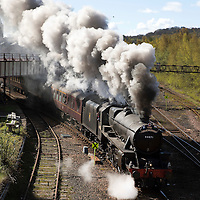 The Great Britain IX steam tour of the UK….30.04.16<br />