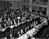 1957 - Dublin Chamber of Commerce Dinner at the Gresham Hotel