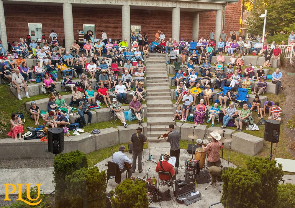 PLU, Thursday, July 6, 2017. (Photo: John Froschauer/PLU)