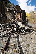 The abandoned Champion Mine outside Silverton, Colorado.