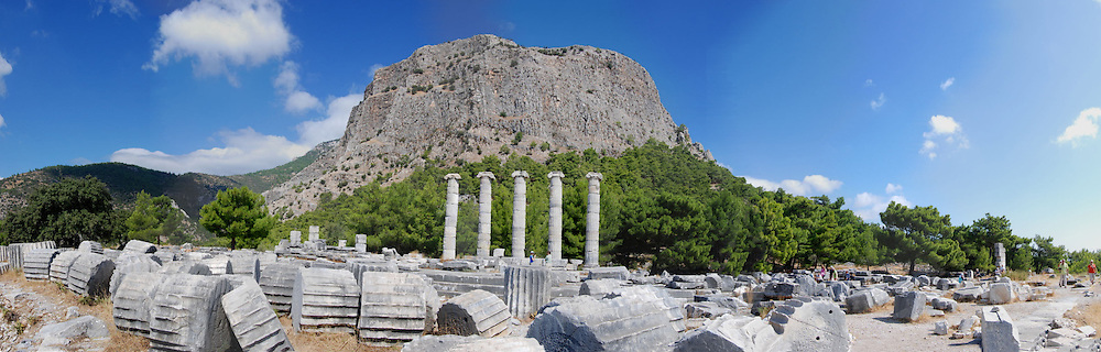 Ruins of The Temple of Athena, Priene, Turkey