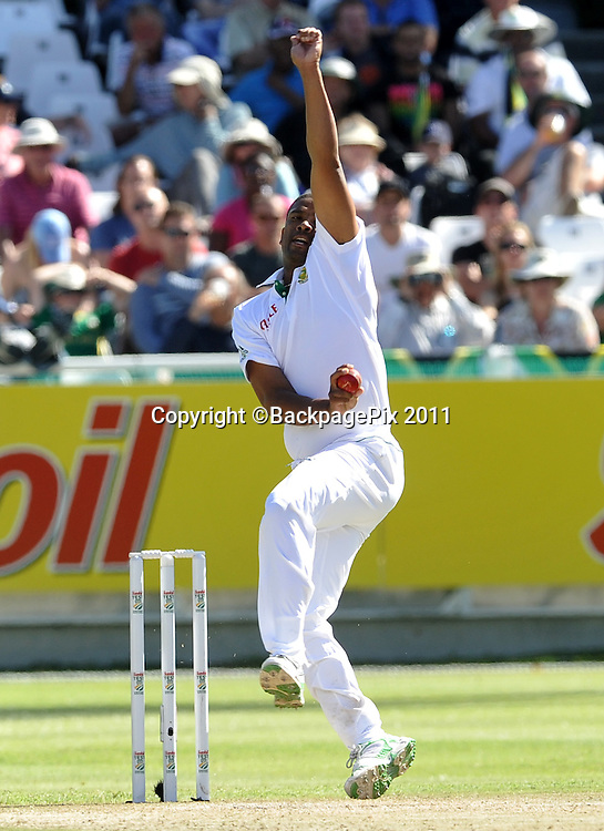 Vernon Philander of South Africa. South Africa v Australia, first test, day 2, Newlands, South Africa. 10 November 2011<br /> <br /> <br /> &copy;Ryan Wilkisky/BackpagePix