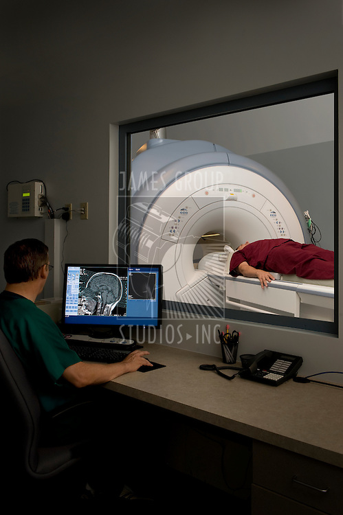 MRI control room