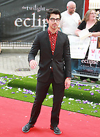 Joe Jonas The Twilight Saga: Eclipse UK Gala Premiere, Leicester Square Gardens, London, UK, 01 July 2010:  For piQtured Sales contact: Ian@Piqtured.com +44(0)791 626 2580 (Picture by Richard Goldschmidt/Piqtured)
