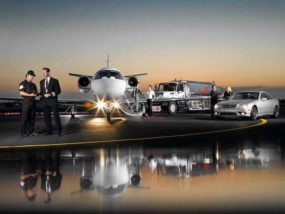 Aviation Citation jet service by AvFuel