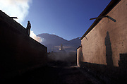 Morning on the streets of the monastery..LAMBRANG MONASTERY IN XIAHE - CHINA.copyright: Androniki Christodoulou
