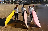 January 2nd-11th 2007.  Sur la plage de Manly.
