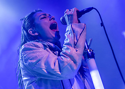 © Licensed to London News Pictures. 30/11/2013. London, UK.   Charli XCX performing live at O2 Islington Academy. Charli XCX is an english singer-songwriter, real name Charlotte Emma Aitchison.  Photo credit : Richard Isaac/LNP