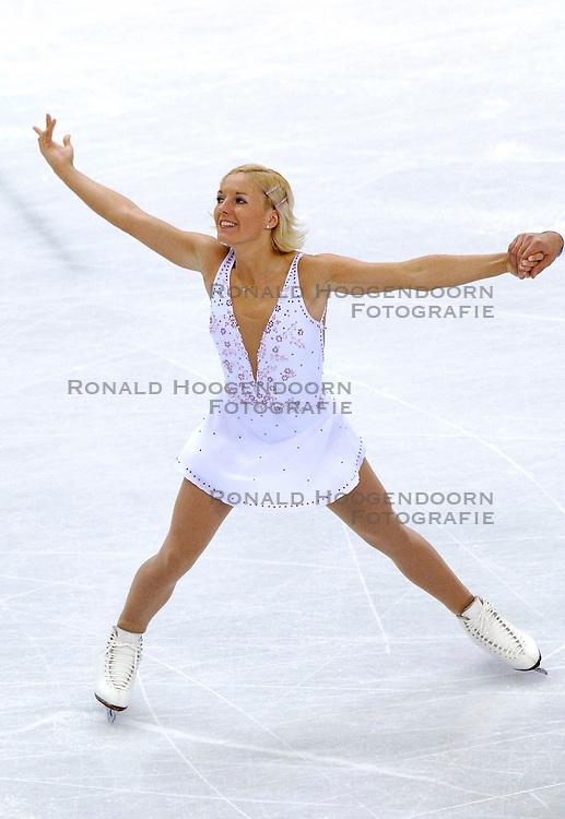 11-02-2006 KUNSTSCHAATSEN: OLYMPISCHE SPELEN: TORINO<br /> Dorota Zagorska en Mariusz Siudek (POL)<br /> &copy;2006-WWW.FOTOHOOGENDOORN.NL