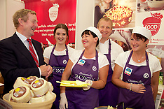 Taoiseach Enda Kenny at supervalue Stand at The National Ploughing Championships 2014.