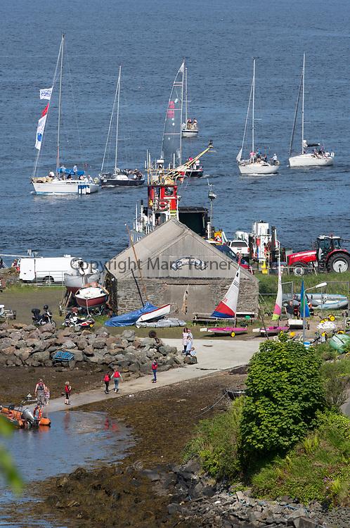 Silvers Marine Scottish Series 2017<br /> Tarbert Loch Fyne - Sailing<br /> Harbour<br /> <br /> Credit Marc Turner / PFM
