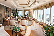 The penthouse triplex at 150 West 56th Street, The Metropolitan Club, in New York City.