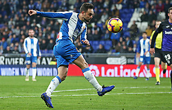 January 4, 2019 - Barcelona, Spain - Sergio Garcia during the match between RCD Espanyol and CD Leganes, corresponding to the week 18 of the Liga Santander, played at the RCDE Stadium on 04th January 2019 in Barcelona, Spain. (Credit Image: © Joan Valls/NurPhoto via ZUMA Press)