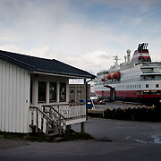 Three weeks aboard the Kong Harald. Hurtigruten, the Coastal Express. Skjervoy.