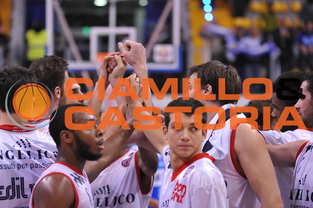DESCRIZIONE : Biella Lega A 2011-12 Angelico Biella Banco di Sardegna Sassari<br /> GIOCATORE : Team<br /> SQUADRA : Angelico Biella<br /> EVENTO : Campionato Lega A 2011-2012<br /> GARA : Angelico Biella Banco di Sardegna Sassari<br /> DATA : 03/01/2012<br /> CATEGORIA : Delusione<br /> SPORT : Pallacanestro<br /> AUTORE : Agenzia Ciamillo-Castoria/S.Ceretti<br /> Galleria : Lega Basket A 2011-2012<br /> Fotonotizia : Biella Lega A 2011-12 Angelico Biella Banco di Sardegna Sassari<br /> Predefinita :
