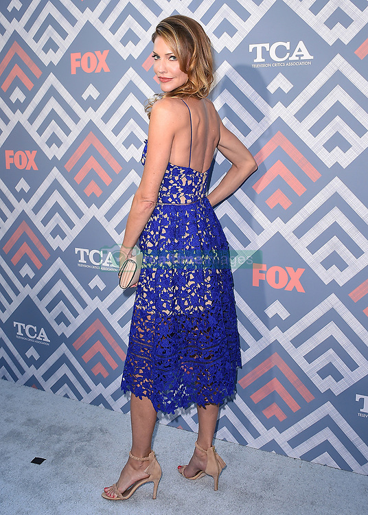 WEST HOLLYWOOD - AUGUST 8:  Tricia Helfer at the FOX and FX 2017 Summer TCA All-Star party at Soho House on August 8, 2017 in West Hollywood, California. (Photo by Scott Kirkland/FOX/PictureGroup) *** Please Use Credit from Credit Field ***