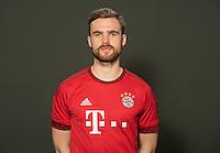 German Soccer Bundesliga 2015/16 - Photocall of FC Bayern Munich on 16 July 2015 in Munich, Germany: Jan Kirchhoff